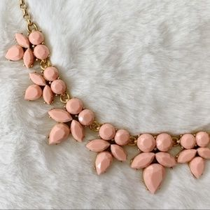 NWT JCrew Gemstone Petal Statement Necklace